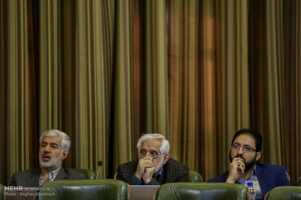 تقدیم لایحه بودجه سال 95 شهرداری به شورای اسلامی شهر تهران