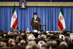دیدار دستاندرکاران انتخابات با رهبر معظم انقلاب اسلامی