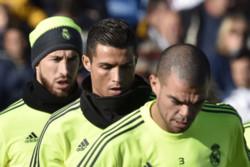 فیلم/ کری خوانی هم تیمیهای رونالدو در تمرین رئال مادرید