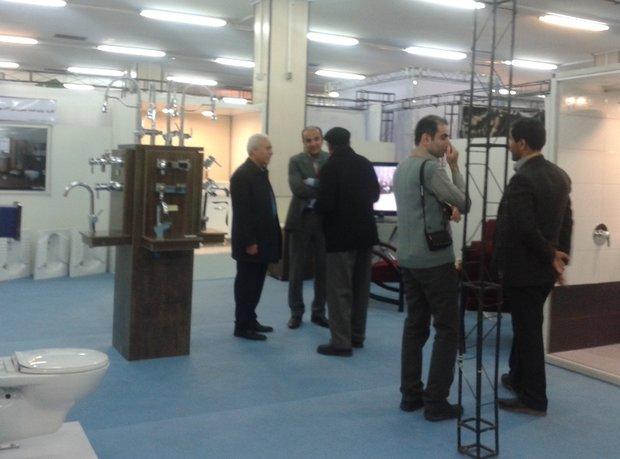 افتتاح نمایشگاه توانمندیهای صنایع کوچک و صنایع تبدیلی در همدان