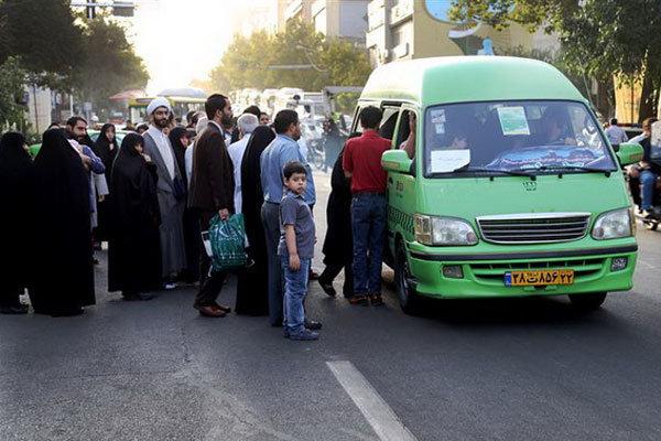 افزایش سهمیه سوخت تاکسیهای ون شهر همدان