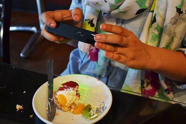 کالری مواد غذایی را با موبایل اندازه بگیرید