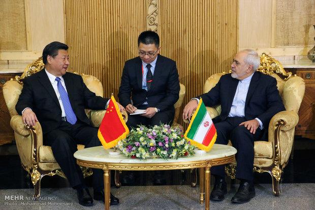 چین کے صدر تہران پہنچ گئے ہیں