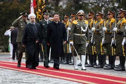 Çin Cumhurbaşkanı Tahran'a geldi/Foto
