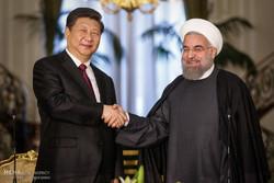 مراسم استقبال رسمی از رییس جمهور چین
