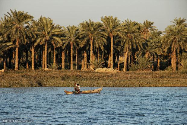 صید در رودخانه بهمنشیر