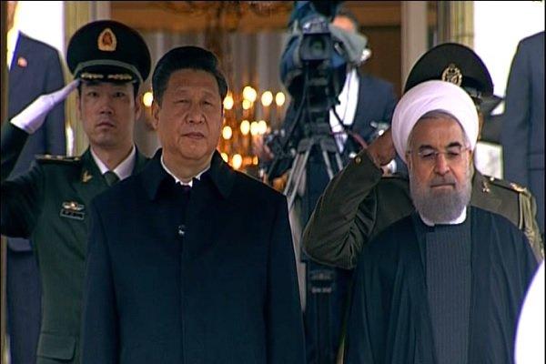 روسای جمهور ایران و چین