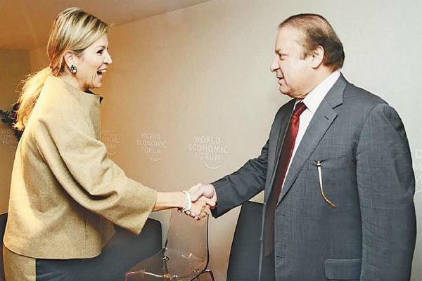 ملکه هلند به پاکستان سفر می کند