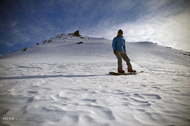 پیست اسکی دربندسر امروز بازگشایی میشود