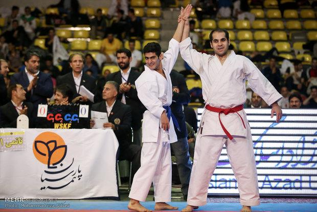 جام ایران زمین کاراته به ایستگاه پانزدهم رسید