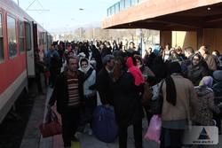 ورود بیش از ۱۶۰۰ مسافر به منطقه آزاد ارس از طریق قطار چارتر