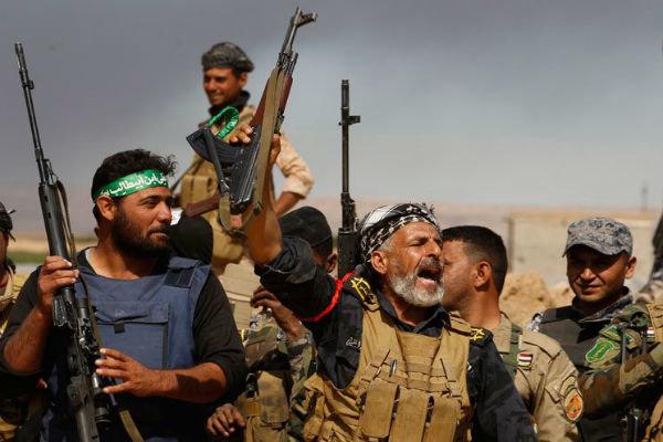 """الحشد الشعبي يحرر  قصبة """"بشير"""" جنوبي كركوك من قبضة داعش"""