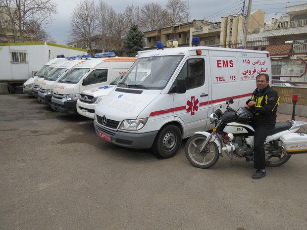 فعالیت صددرصدی اورژانس و بخشهای ویژه بیمارستانها در نوروز