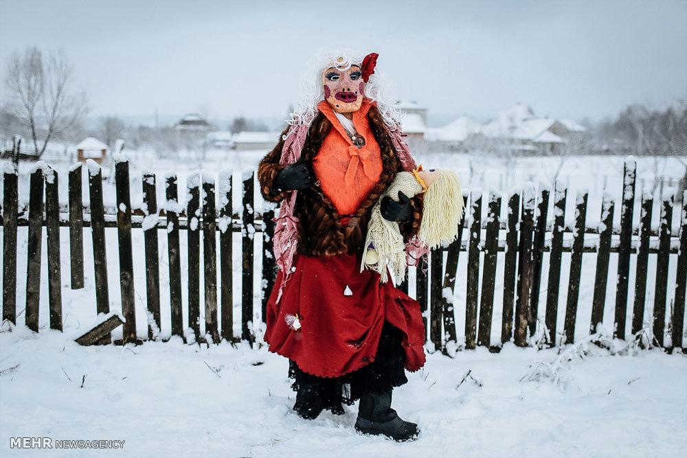جشنواره زمستانی مالانکا در اوکراین