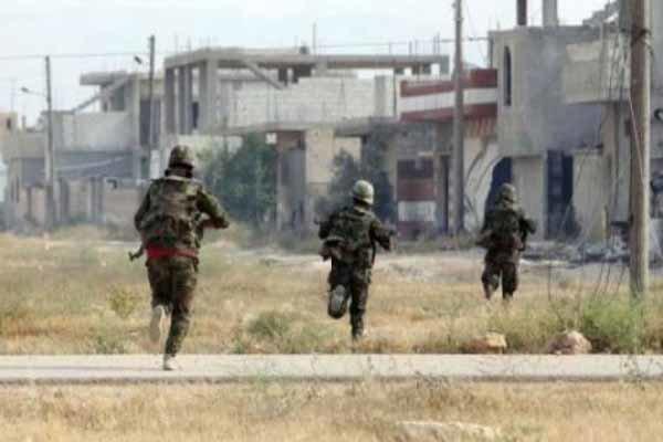 شامی فوج کی الرقہ کی جانب پیشقدمی