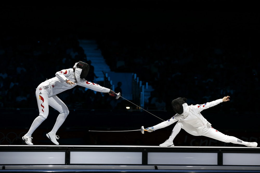Iranian Fencers Off To S Korea To Snare Olympic Berth