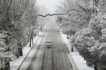 یخبندان و گرفتگی معابر در تبریز