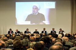 حضور رییس جمهور در نشست تجاری ایران و ایتالیا
