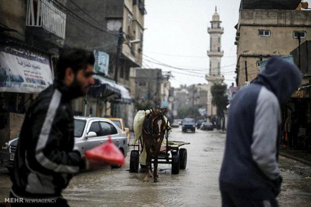 فيضانات في غزة
