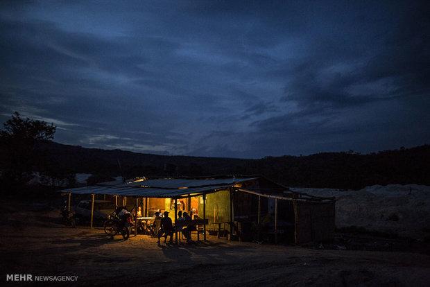 مناجم الالماس في البرازيل