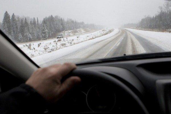 کراپشده - جاده های برفی