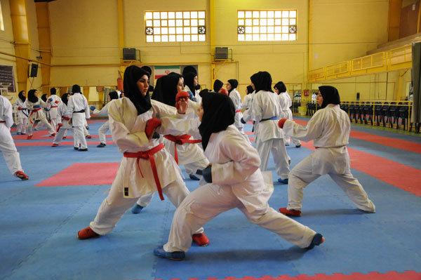 گرگان قهرمان کاراته دختران المپیاد ورزشی گلستان شد