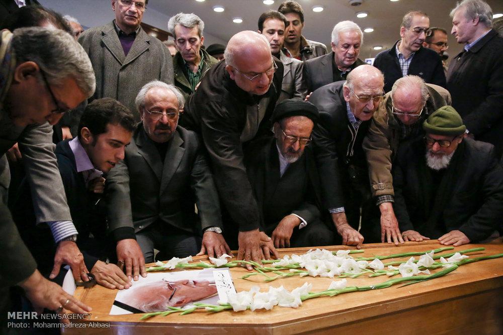 تشییع پیکر زنده یاد ابوالحسن نجفی
