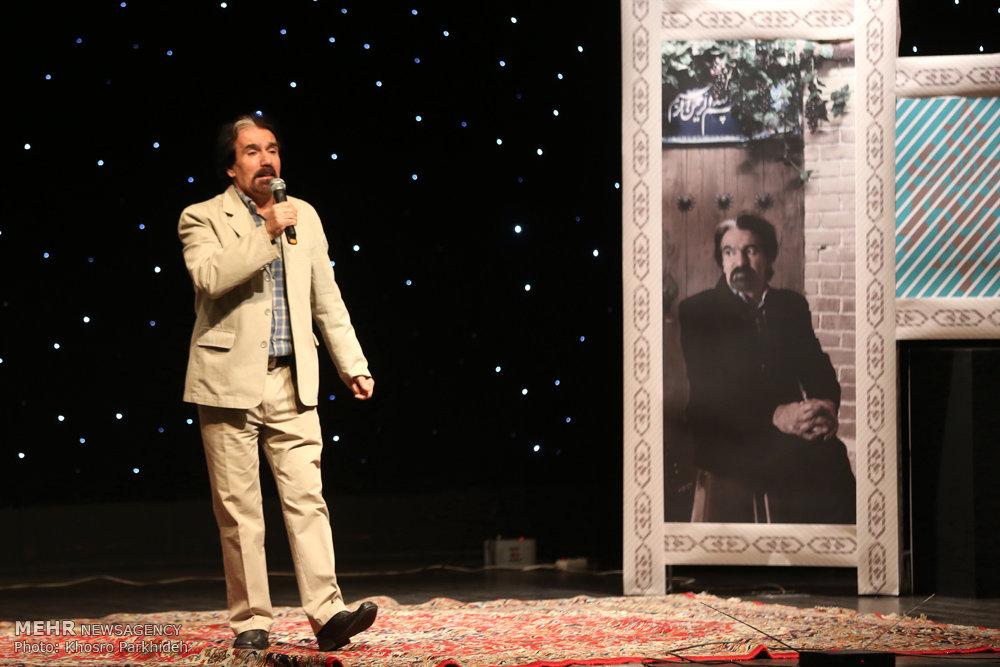 مراسم تجلیل از محمد میرزاوند خواننده سرودهای حماسی