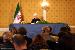 مصاحبه مطبوعاتی رییس جمهور در پایان سفر به ایتالیا