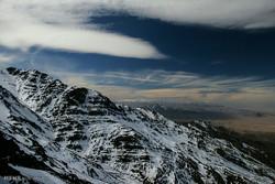 صعود زمستانی به قله هزار کرمان