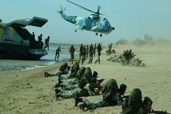 قوات المغاوير البحرية تنفذ عمليات في البحر والبر في سواحل مكران