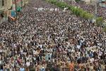 تظاهرات گسترده یمنیها در محکومیت آمریکا و حمایت از قدس اشغالی