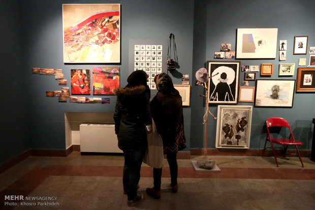 Fadjr Intl. Festival of Visual Arts opens
