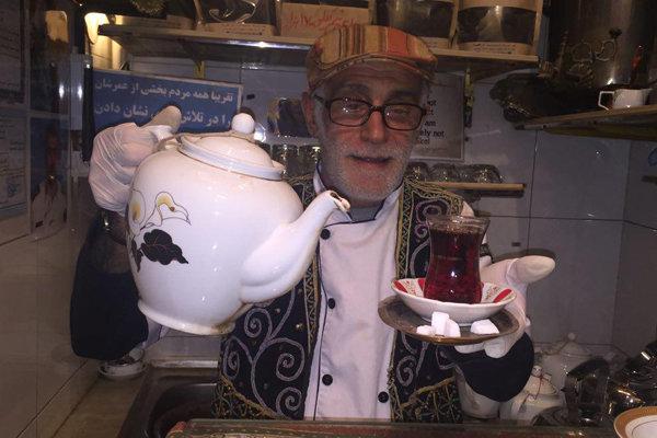 کوچکترین قهوه خانه ایران