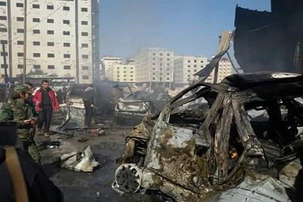 فلم/ شام ميں دھماکوں کے بعد سیدہ زینب (س) علاقہ کی صورتحال