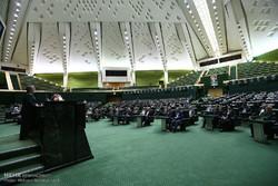 حضور فرماندهان نیروی دریایی سپاه در جلسه  علنی امروز مجلس شورای اسلامی