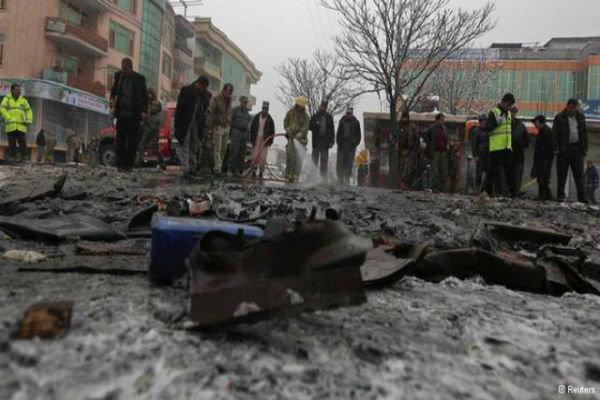 قتلى وعدد كبير من الجرحى في انفجار قوي يهز وسط كابول
