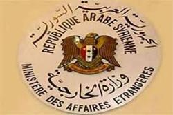 الخارجية السورية تدين العدوان السعودي على اليمن