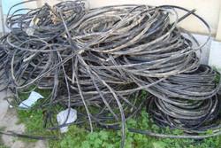 شناسایی سارقان سیم کابل های برق حسن آباد