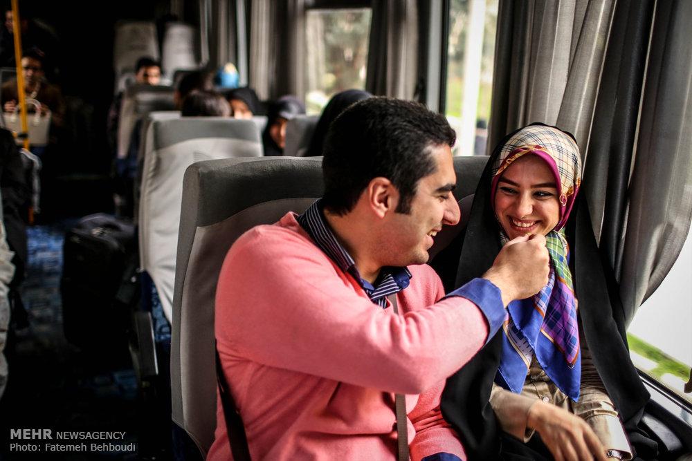 مراسم ازدواج دانشجویی دانشجویان دانشگاه امیر کبیر