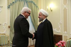 دیدار وزیر خارجه آلمان با رئیس جمهور
