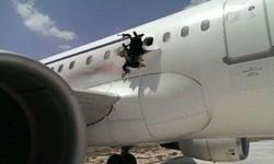 موغادیشو سے پرواز کرنے والے مسافر جہاز میں اچانک دھماکے سے شگاف پڑ گیا