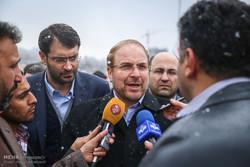 بهره برداری از تقاطع روگذر بلوار ارتش و اتوبان صیاد با حضور محمدباقر قالیباف شهردار تهران