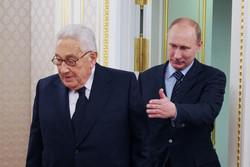 پوتین و هنری کیسینجر