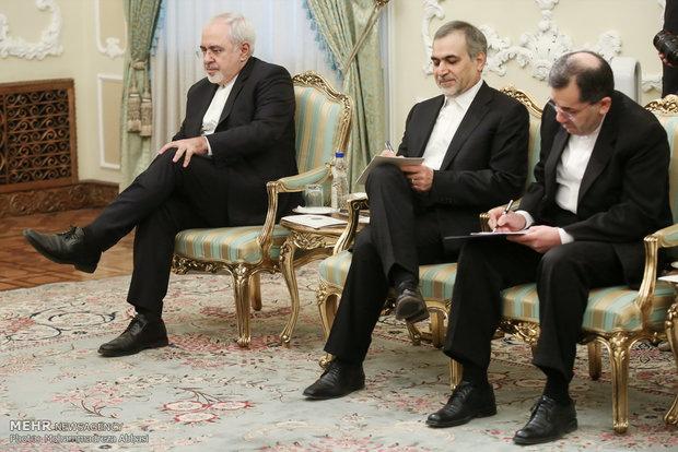 Pres. Rouhani, German FM meet in Tehran