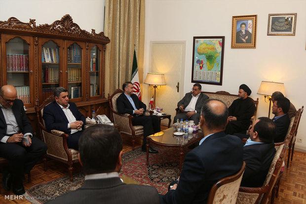 Deputy FM meets IVP members