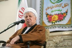 دیدار جمعی از اعضا و مسئولان موسسات فرهنگی، هنری، سازمانهای مردم نهاد با آیت الله هاشمی رفسنجانی
