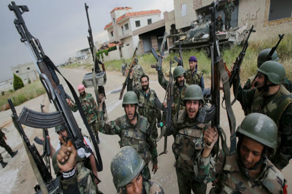 Syrian army inflicts heavy losses on terrorists in Daraa