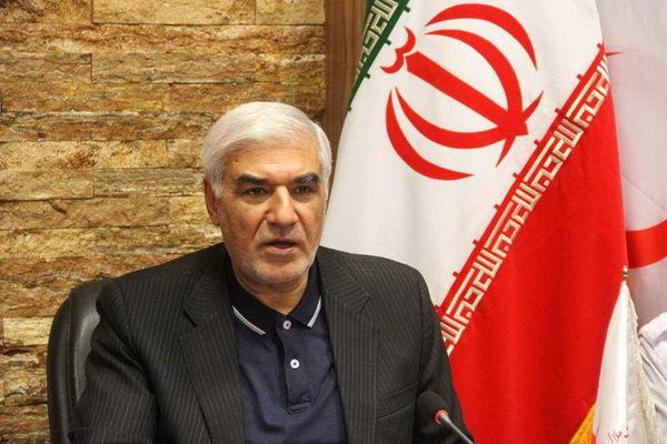 علی اصغر احمدی هلال احمر
