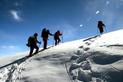 Mount Sabalan in winter